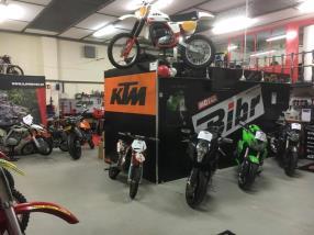 Vente de motos d'occasion