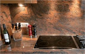 Plan de travail pour cuisine en marbre