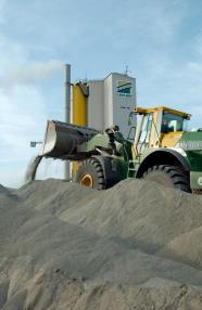 Production d'enrobés (asphalte)