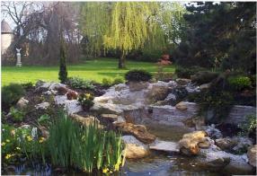 Création d'étangs