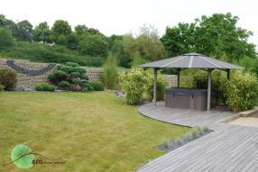 Aménagement de jardin style japonisant