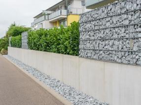 Murs de soutènement et gabions