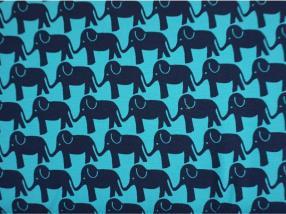 """cotton 95% """" Elephant Parade"""""""