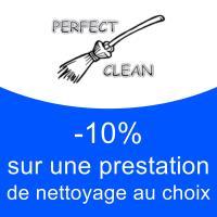 - 10% sur une prestation de nettoyage