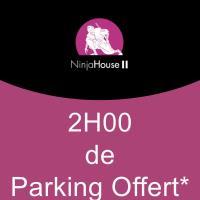 2H DE PARKING OFFERT - Parking Fort Wedell