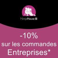 -10% sur les commandes d'entreprises