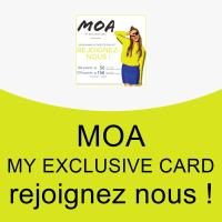MOA  my exclusive card